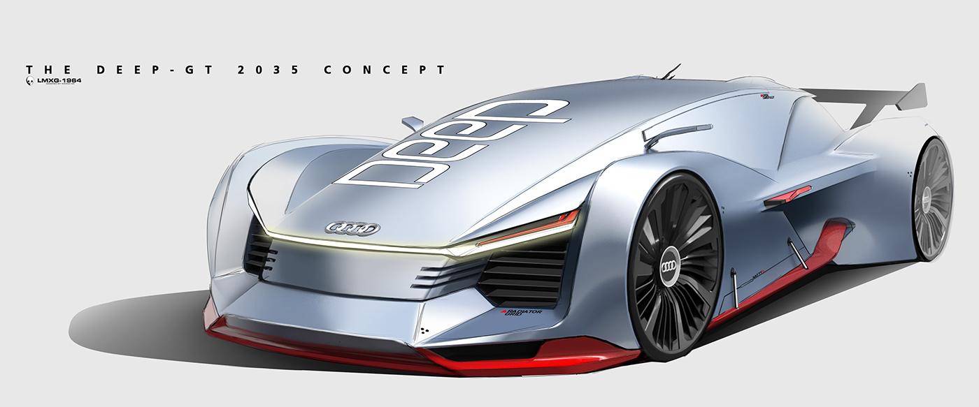 Audi Deep Gt 2035 Concept By Xiaokai Ma Motivezine