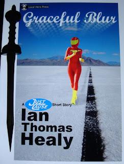Portada del libro Graceful Blur, de Ian Thomas Healy