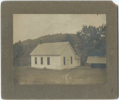 1904 Photograph of the Methodist Church at West Leyden, Massachusetts