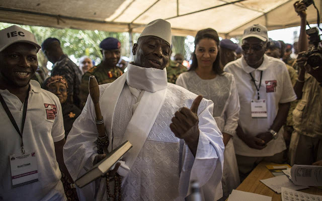 Gambia president again refuses to step down