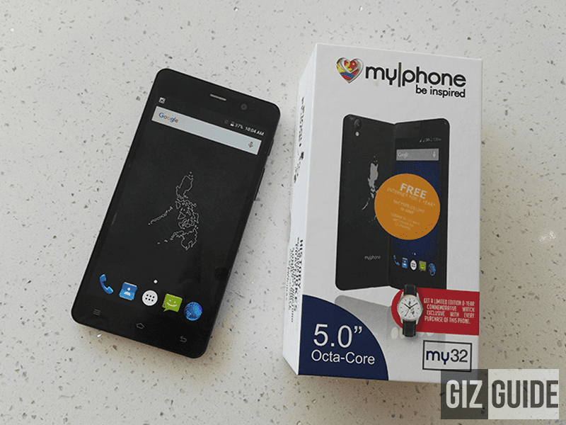 MyPhone My32 Unboxing
