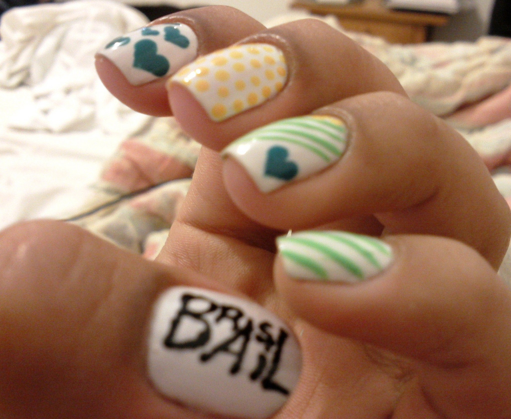 Farry island cute nail art - Cute nail art designs to do at home ...