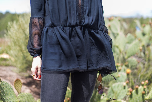 free people lace tunic