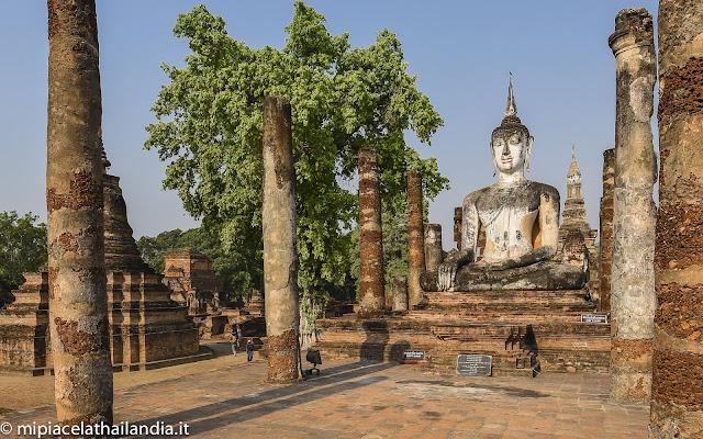 Wat Mahathat, Sukhothai - smaller viharn