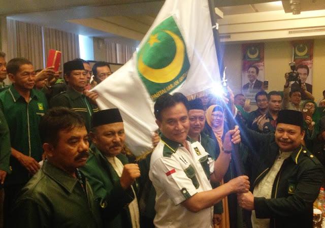 PBB Jatim Dukung Yusril Merapat ke Jokowi - Ma'ruf Amin
