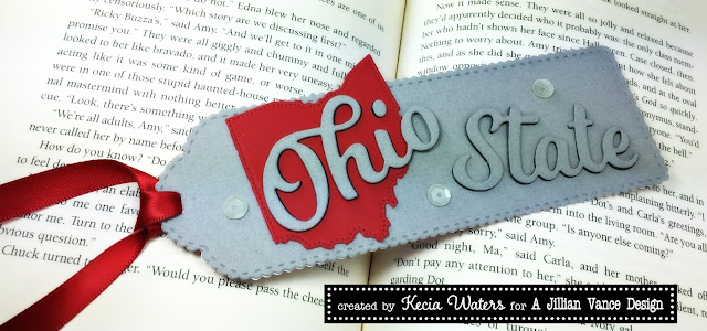 AJVD, Kecia Waters, Go Buckeyes, Ohio State, Buckeyes, bookmark