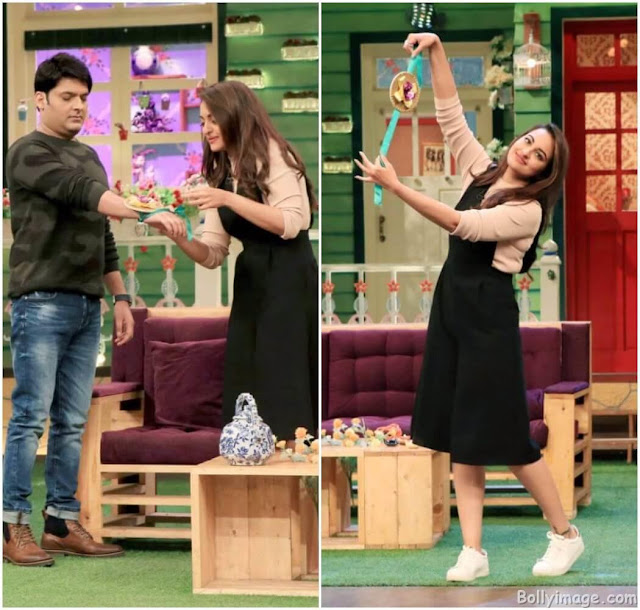 sonakshi sinha makes kapil shamra her brother pic