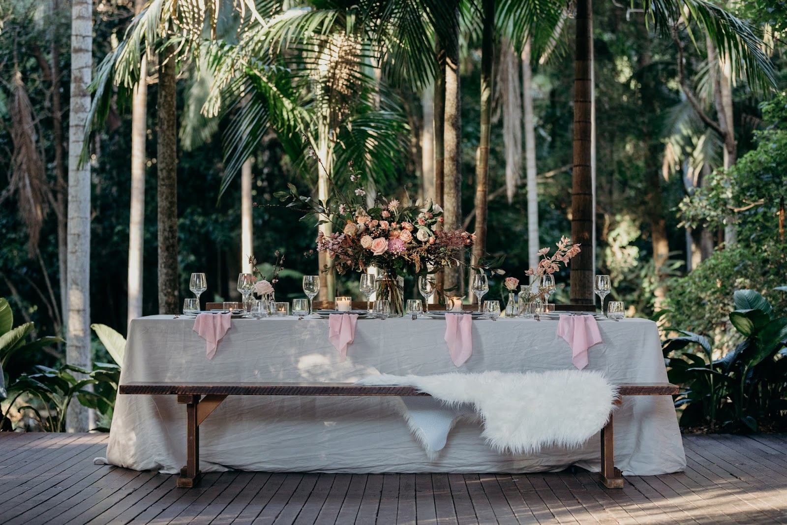 STYLED: BRIDAL TABLESCAPE INSPIRATION | TAMBOURINE MOUNTAIN QLD