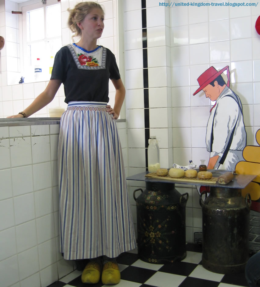 Cheese and Clog factory in Amsterdam