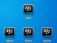 Download BBM1, BBM2, BBM3, BBM4 Versi 3.0.0.18 Apk Terbaru 2016