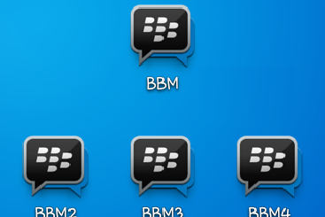 Download BBM1, BBM2, BBM3, BBM4 Versi 3.0.0.18 Apk Terbaru