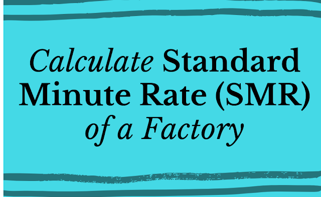 calculating standard minute rate