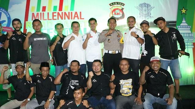 Milenial Road Safety Festival, Dir Lantas Polda Banten : Mulai Tahun 2019 Harus Tertib Berlalu lintas
