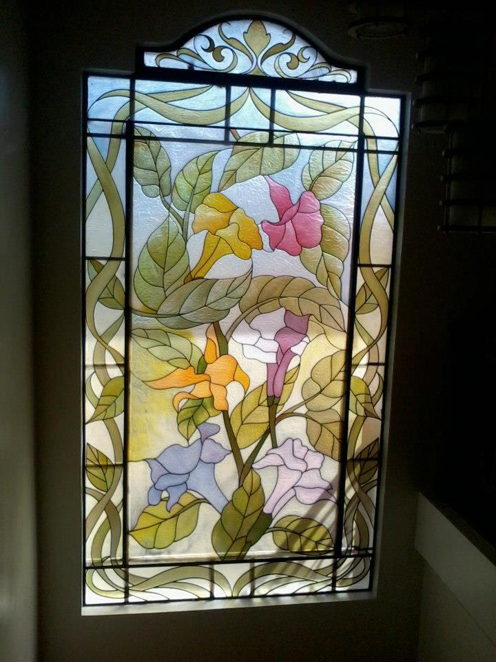 Dekora Glass Art Stained Glass Fiberglass Art Etched