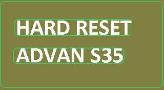 Tutorial masuk android system recovery pada advan s35
