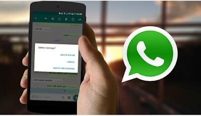 Cara Meggunakan Fitur WhatsApp 'Delete For Everyone' , Begini Cara Pakainya