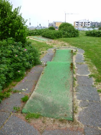 Mini Golf course on Ayr seafront