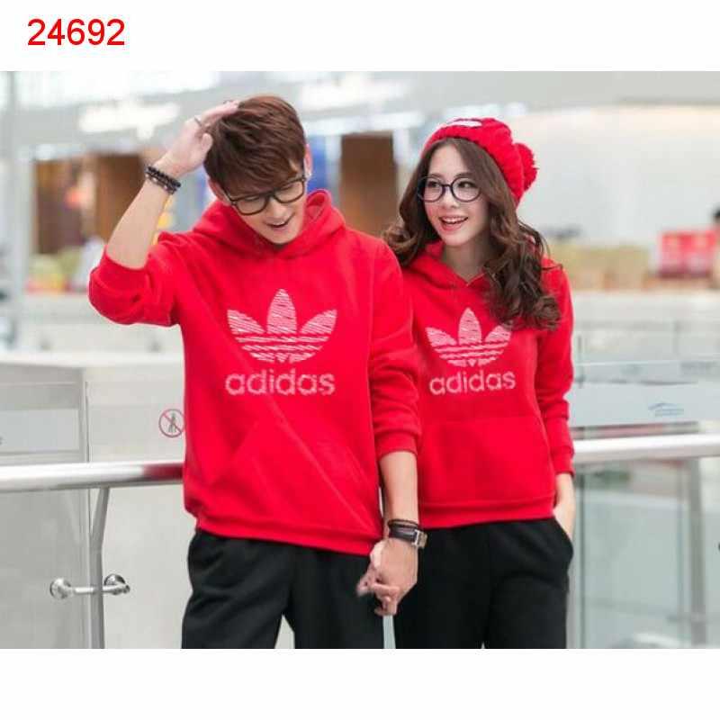 Jual Jumper Couple Jumper Adidas Red - 24692