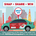 Spot this Meru Cab in Delhi and win exciting prizes from Snapdeal