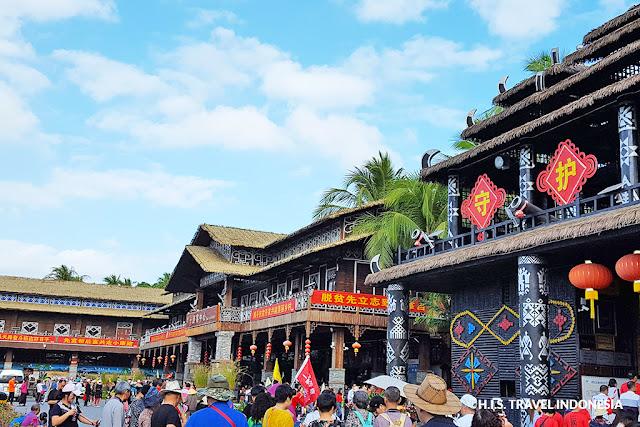 desa tradisional yetian di hainan