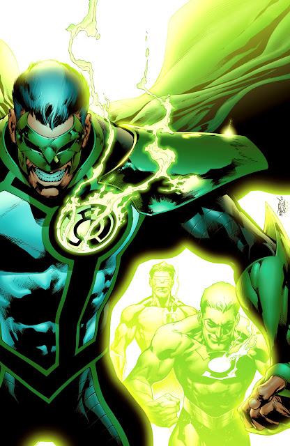 green lantern parallax