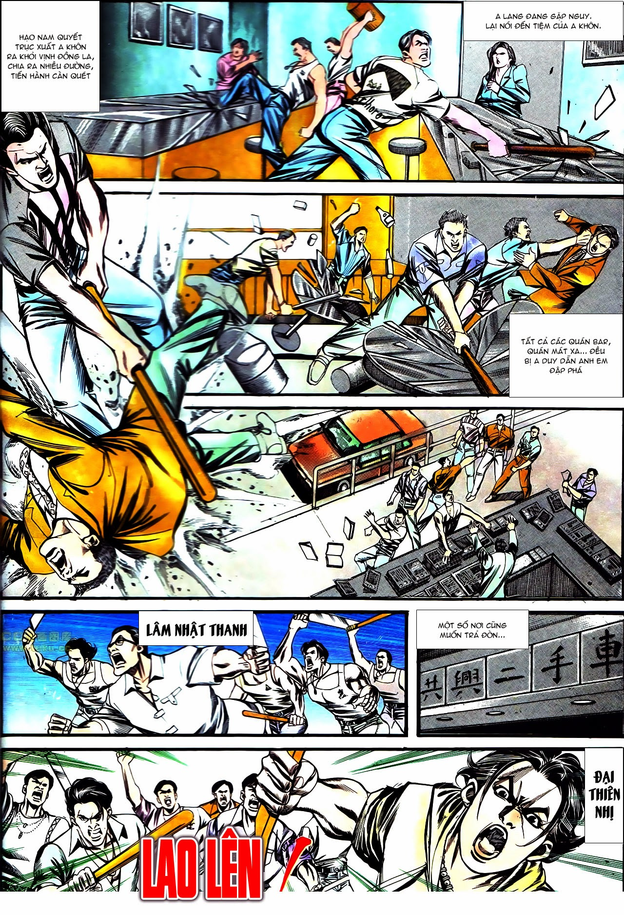 Người Trong Giang Hồ chapter 126: bá chủ trang 21