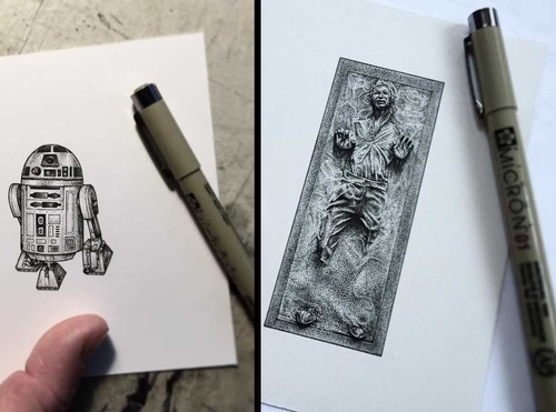00-Paul-Jackson-Star-Wars-Miniature-Drawings-www-designstack-co