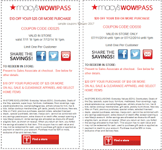 Macy's coupons february