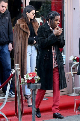 Kendall Jenner and rumored boyfriend A$ap Rocky hang out in Paris (photos)