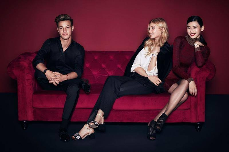 Daniel Wellington Holiday 2017 Campaign