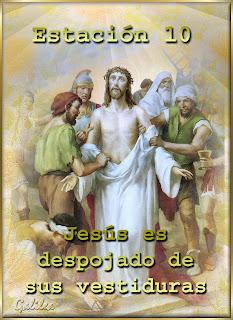 Resultado de imagen para Jesús es despojado de sus vestiduras