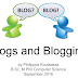Blogs and Blogging...