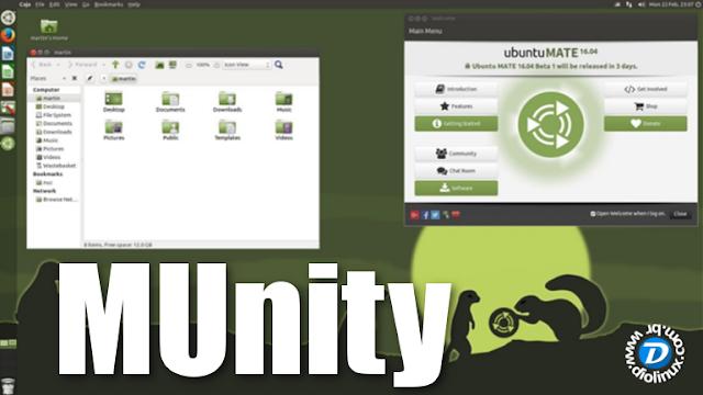 Munity - Ubuntu MATE