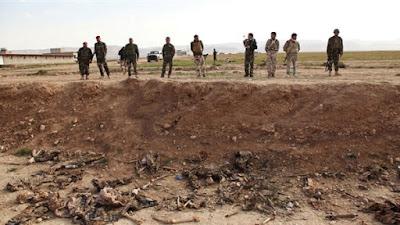 """العثور على مقبرة جماعية لمدنيين أعدمهم """"داعش"""" بكركوك"""