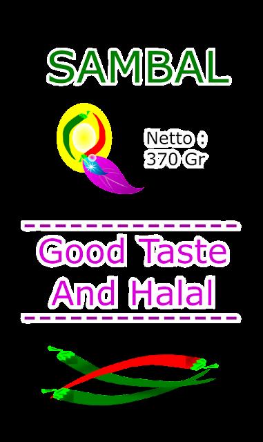 Sambal Good Taste And Halal