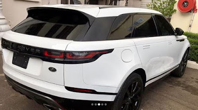 Super Eagles player Ahmed Musa buys brand new Range Rover