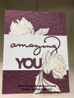 Stampin' Up! Celebrate You Thinlits Sale-A-Bration Fresh Fig Cardstock
