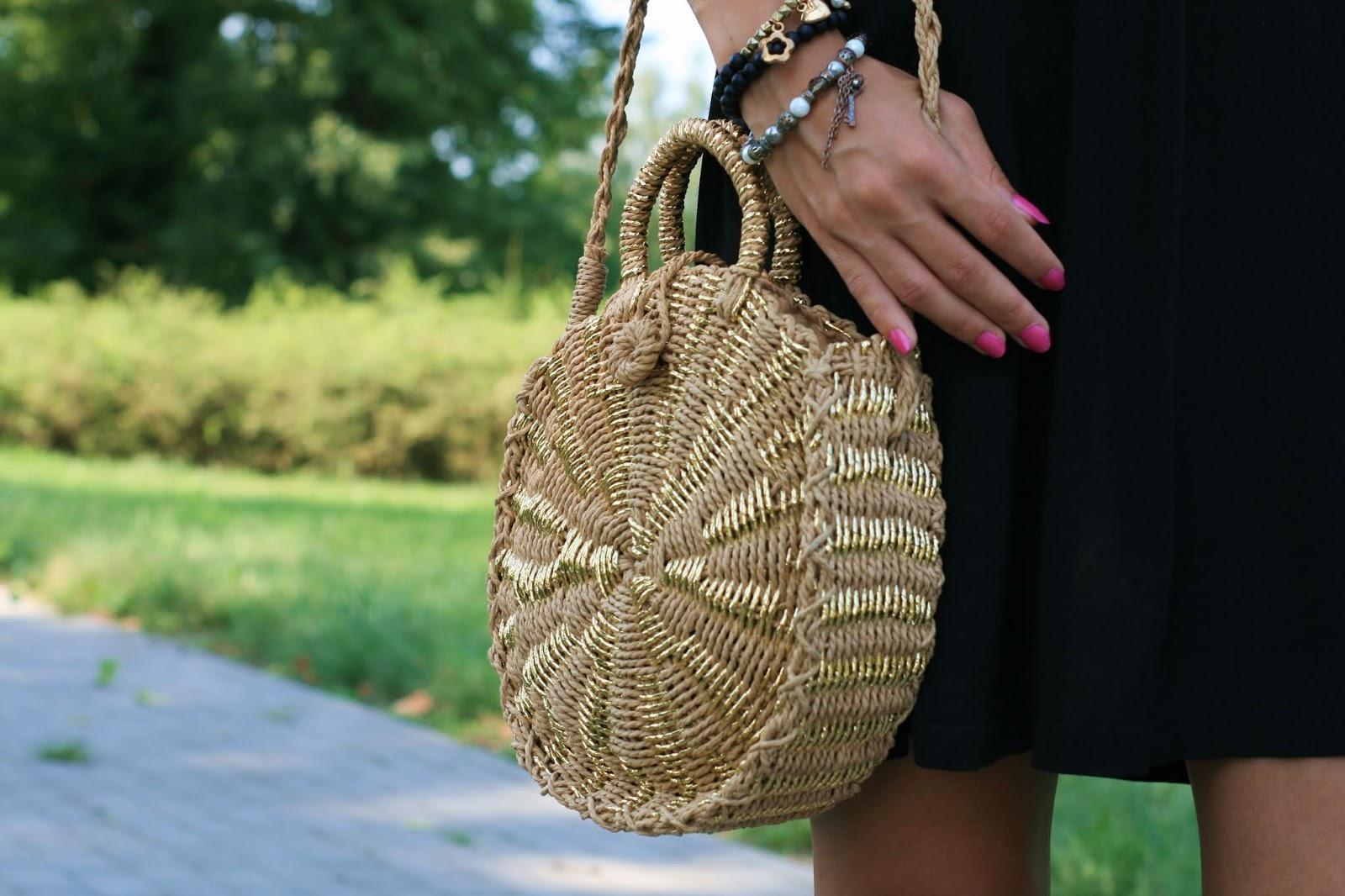 Summer straw bag Rosegal | Pleciona torebka Rosegal