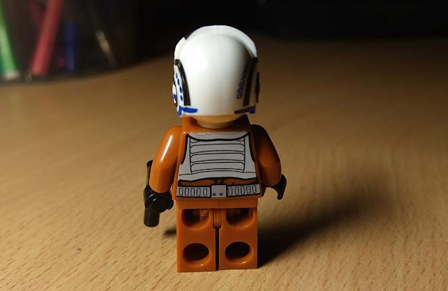 Пилот x-wing  фигурка лего купить