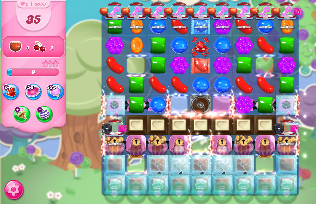 Candy Crush Saga level 6083