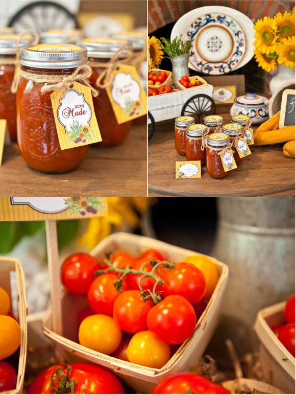 A Taste of Tuscany | An Italian Fall Dinner Party - Party ... |Italian Party Themes