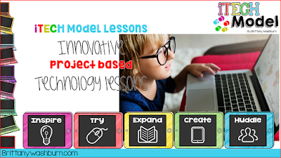 iTECH Model Lessons for Innovative Project Based Technology Lessons