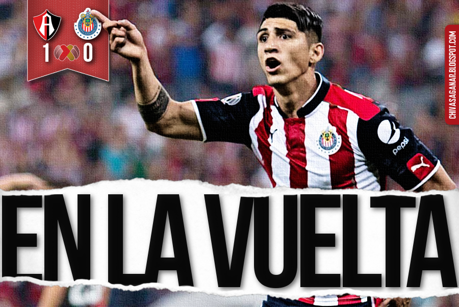 Liga MX : Club Atlas 1-0 CD Guadalajara - Clausura 2017 - 4os/Ida.