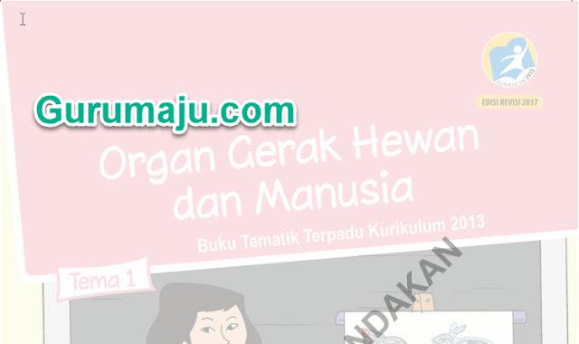 DOWNLOAD BUKU KURIKULUM 2013 SD LENGKAP TERBARU REVISI 2017