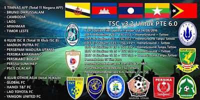 PES 2016 TSC v3.2 for PTE 6.0 By iPatch Team - Released 10/08/2016