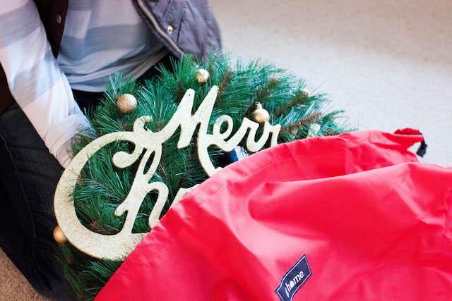 christmas storage, christmas decorations, christmas decor, christmas tree storage, christmas tree bag, at home stores, at home, christmas, diy blog, diy blogger, holiday decorations, holiday storage, holiday decor storage, austin blogger, texas blogger, home decor blog, home decor blogger