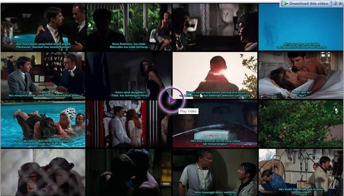 Screenshots Download Film Gratis The Graduate (1967) BluRay 480p MP4 Subtitle Indonesia 3GP Nonton Film Gratis Free Full Movie Streaming
