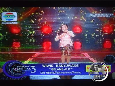 """Wiwik Banyuwangi Bintang Pantura 3 lagu """"Gelang Alit"""""""