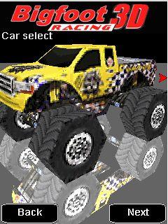 3D Bigfoot Racing