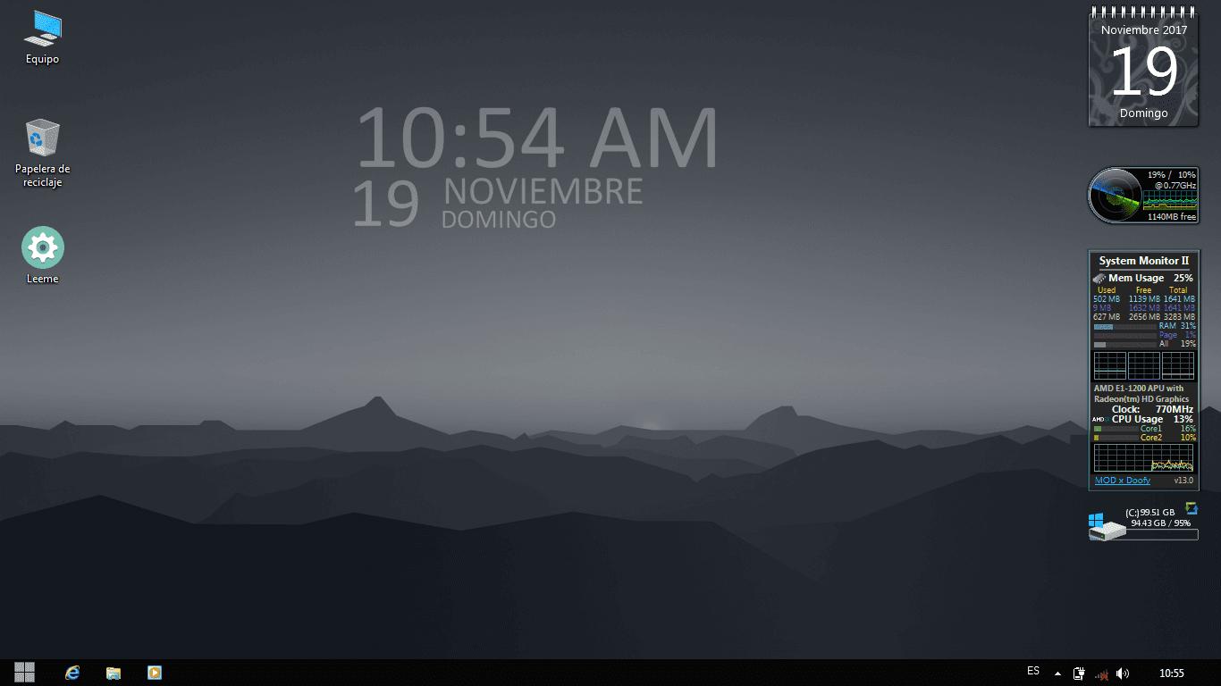 UPDATE PRO* Windows MiniOS 7 PRO v2018.06 - Una mirada al futuro ...